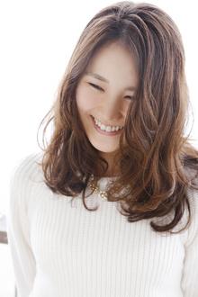 乾かすだけで◎ ざっくりセミロング|ANT'S Southern-Resort 茅ヶ崎店のヘアスタイル