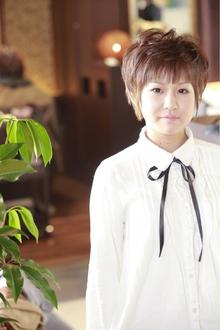 ふんわりショートレイヤー♪|ANT'S Southern-Resort 茅ヶ崎店のヘアスタイル
