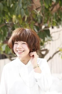 やんわり愛されショートボブ|ANT'S Southern-Resort 茅ヶ崎店のヘアスタイル