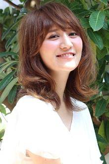 外ハネレイヤー|ANT'S Hair and Resort 辻堂本店のヘアスタイル