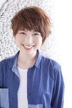 フワ♪クシュ★ショートスタイル|ANT'S Hair and Resort 辻堂本店 川内 辰志のヘアスタイル