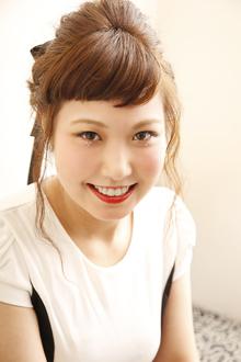 キュートなアップスタイル!|ANT'S Hair and Resort 辻堂本店のヘアスタイル
