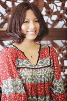 バルーンフェミニンボブ|ANT'S Hair and Resort 辻堂本店のヘアスタイル