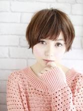 ピュアショート・ハニーカスタード|美容室 Confortoのヘアスタイル