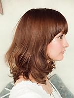 モテ髪ミディアムボブ|kuusiのヘアスタイル