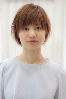 ナチュラルショート☆|Sourireのヘアスタイル