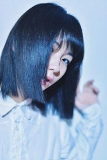 切りっぱなし姫カットボブ|siteのヘアスタイル