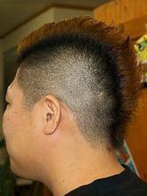 ワイルドショート|56hairのメンズヘアスタイル
