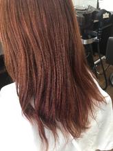 ほっこり暖色|Salon de Heureuxのヘアスタイル
