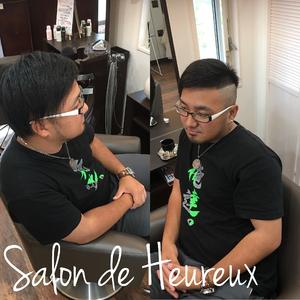 人と少し違うけどカッコイイ|Salon de Heureuxのヘアスタイル