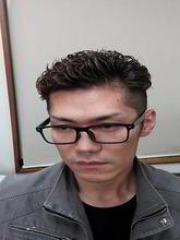 メンズパーマ|go. HAIRのメンズヘアスタイル