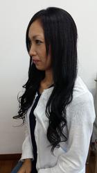 ブラックエクステ|go. HAIRのヘアスタイル