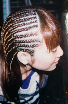 編み込み|go. HAIRのヘアスタイル
