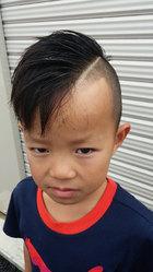 キッズアシメ|go. HAIRのヘアスタイル