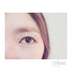 アイラッシュデザイン200本|Ananas eyelashのヘアスタイル