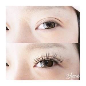 大人気!アップワードラッシュ|Ananas eyelashのヘアスタイル