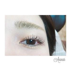 まつげパーマ(上下)|Ananas eyelashのヘアスタイル
