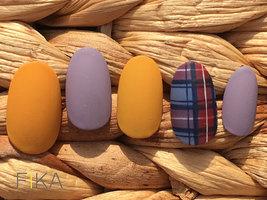 秋冬マーブルデザインはオフィスネイルにも◎|【パラジェル取扱】まつ毛エクステ&ネイル FIKA(フィーカ)  新松戸のネイル