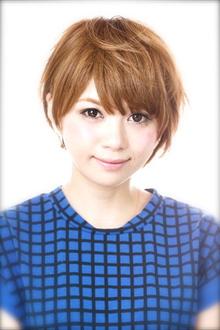 甘辛ミニマムショート〜夏にぴったりな柔質フォルム〜|Mon Coeurのヘアスタイル