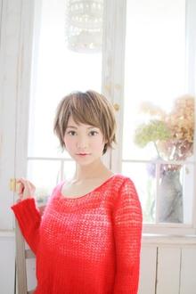 ダークマッシュショート☆|Mon Coeurのヘアスタイル