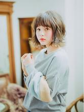 綺麗めナチュラルボブ|Mon Coeur 吉岡 沙織のヘアスタイル