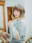 綺麗めナチュラルボブ|Mon Coeurのヘアスタイル