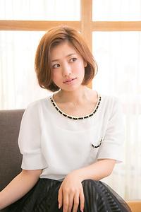 【大人のオフィススタイル】  パリジェンヌボブ