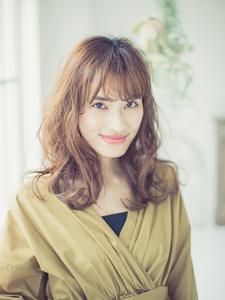 最新ヘア☆ゆるウェーブロング|Mon Coeurのヘアスタイル