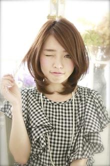 ナチュラルストレート〜潤いたっぷり美人ストレート〜|Mon Coeurのヘアスタイル