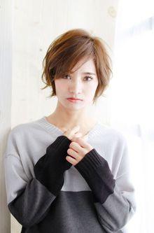 大人かわいいこなれ小顔ショートボブ☆|錦糸町 美容院 Agateのヘアスタイル