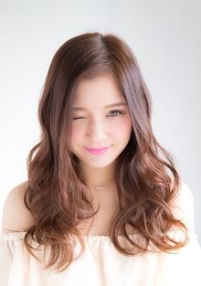 シフォンウェーブ〜やわらかいカールで女らしさを〜|錦糸町 美容院 Agateのヘアスタイル