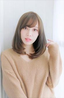 Ryutaのモテ髪うるツヤワンカールストレートロブ|錦糸町 美容院 Agateのヘアスタイル