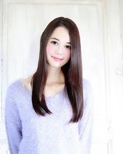 Agate うるツヤストレート 暗髪でも透明感◎ 錦糸町 美容院 Agate Ryuta のヘアスタイル