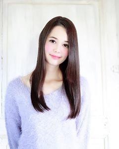 Agate うるツヤストレート 暗髪でも透明感◎|錦糸町 美容院 Agateのヘアスタイル