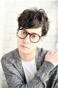 坂口健太郎風髪型 ツーブロネープレスナチュラルくせ毛風パーマ