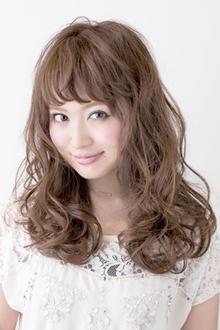 カジュアルドーリーウェーブ|錦糸町 美容院 Agateのヘアスタイル