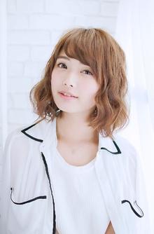 イレギュラールーズボブ〜抜け感のある重ふわスタイル 錦糸町 美容院 Agateのヘアスタイル