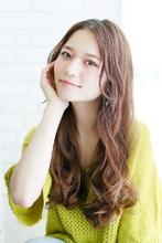 オーガニックウェーブ〜リラックスカジュアル|錦糸町 美容院 Agate 西森 千裕のヘアスタイル