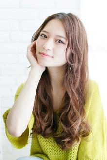 オーガニックウェーブ〜リラックスカジュアル|錦糸町 美容院 Agateのヘアスタイル