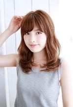 フレンチカール〜ゆるくしゃやわらかミディ〜|錦糸町 美容院 Agateのヘアスタイル