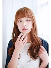 ふわゆるカールでラブリー女子に〜くしゃっとお色気ロング〜|錦糸町 美容院 Agateのヘアスタイル