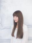 サラサラの髪は思わず触りたくなる☆ストレートロング☆|押上美容院 vitaのヘアスタイル