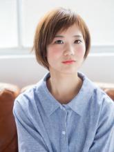 ☆愛され小顔ショート☆|押上美容院 vitaのヘアスタイル