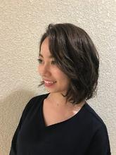 ミディアムボブヘア|Hair Salon 1214のヘアスタイル