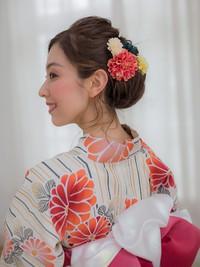 モダン風浴衣アレンジ