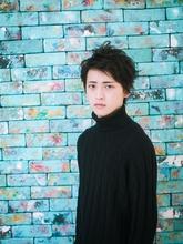 ワイルド系グランジショート|Lian 方南町店 松本 沙弥香のメンズヘアスタイル