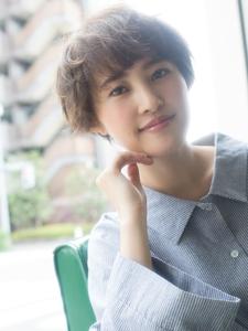 愛されベリーショート☆|Grand Chariot 笹塚店のヘアスタイル