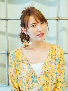 ねじリンパアレンジ☆|Grand Chariot 笹塚店のヘアスタイル