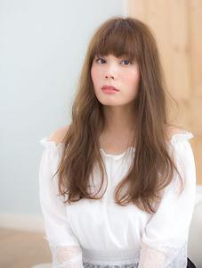 ゆるふわナチュラルストレート Grand Chariot 笹塚店のヘアスタイル