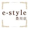 e-style 豊川店 -Nail-  | イースタイル トヨカワテン ネイル  のロゴ